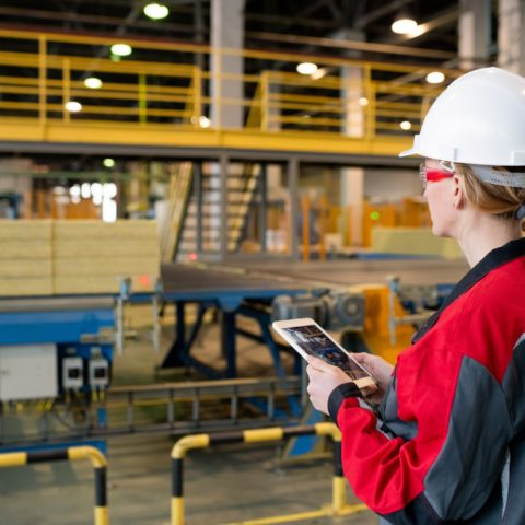 Controlling production line process